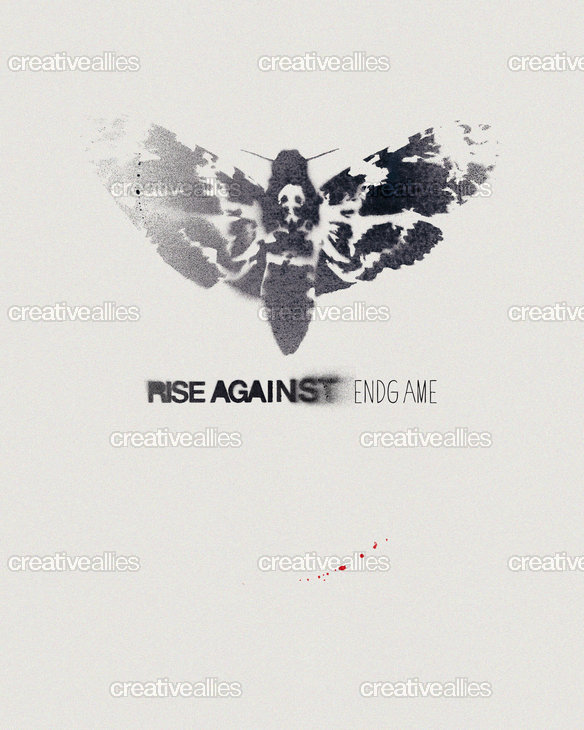Rise Against Poster by edie