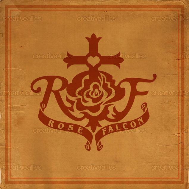 Design_logo_rose_falcon_clean__cross_retro_by_titosup
