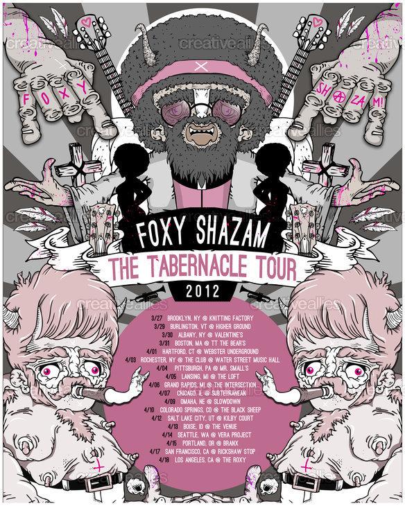 Foxy_shazam_tour_poster