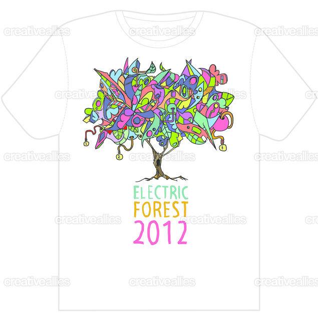 Electricforesttee