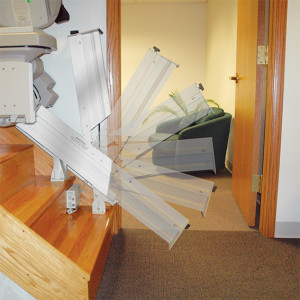 Elite Indoor Power or Manual Folding Rails