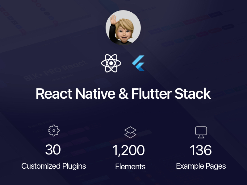 React Native and Flutter Stack