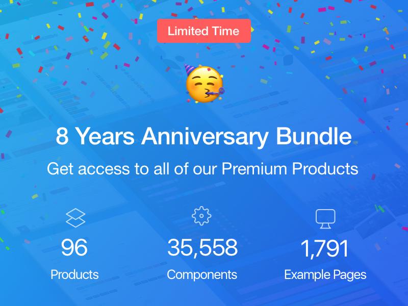8 Years Anniversary Bundle
