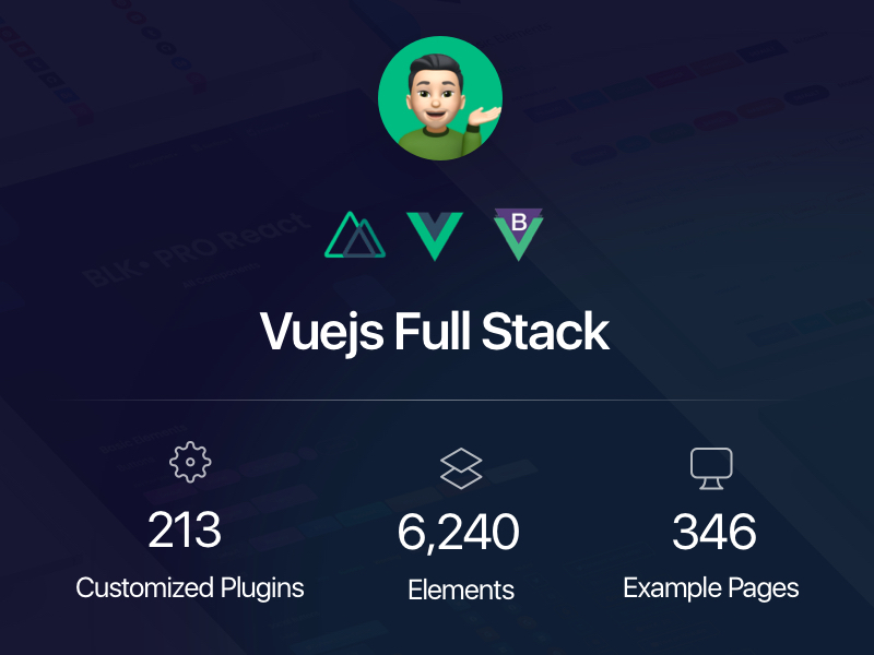 Vue Full Stack Bundle