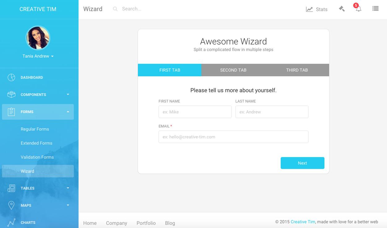 banking dashboard templates - light bootstrap dashboard pro premium bootstrap admin