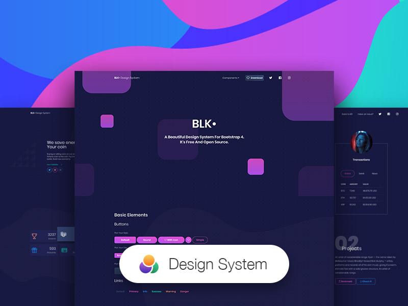 BLK• Design System Image
