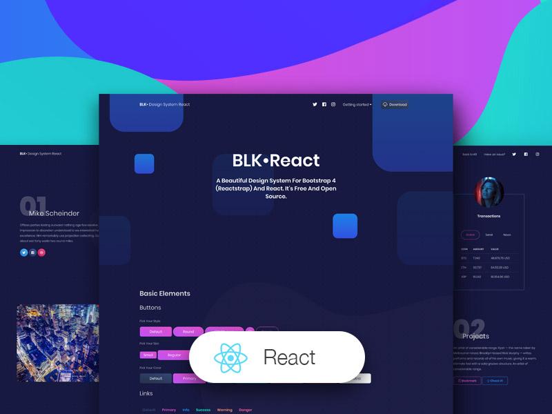 BLK React