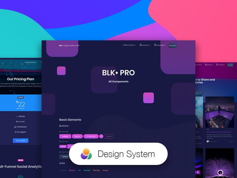 BLK• Design System PRO Image