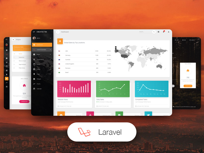 Material Dashboard Pro Laravel by Creative Tim
