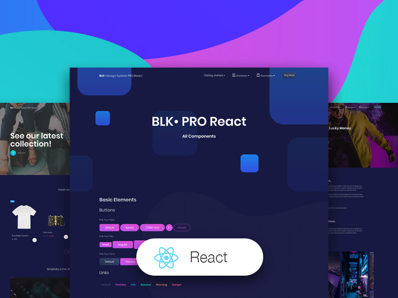 BLK Design System PRO React by Creative Tim