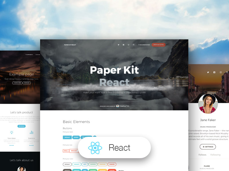 Paper Kit React Image