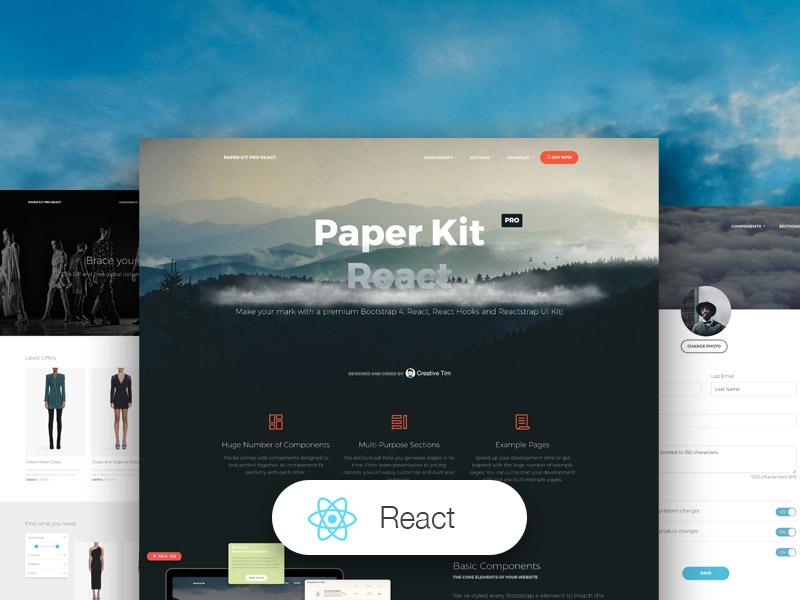 Paper Kit PRO React Image