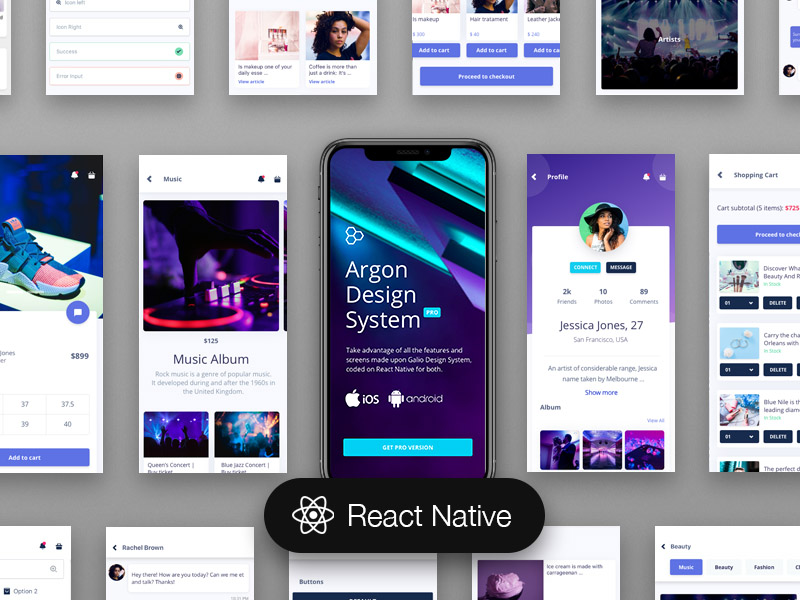 Argon PRO React Native Image