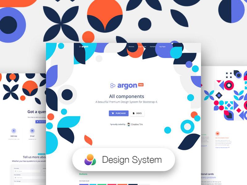 Argon Design System PRO Image