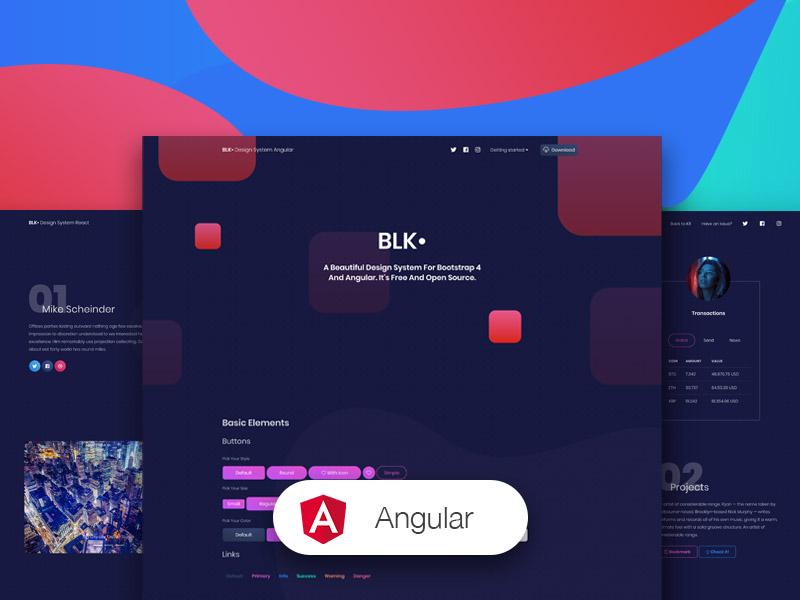 BLK Design System Angular Image