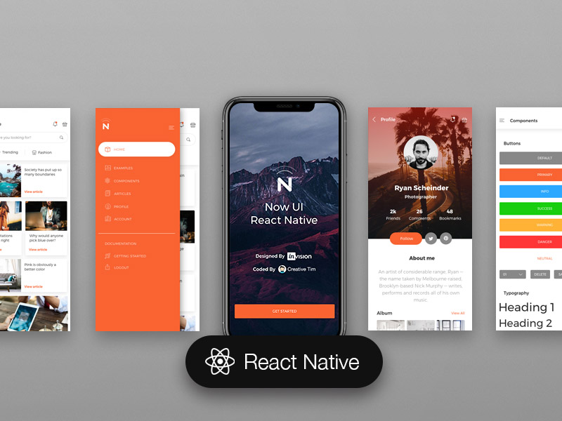 Now UI React Native Image