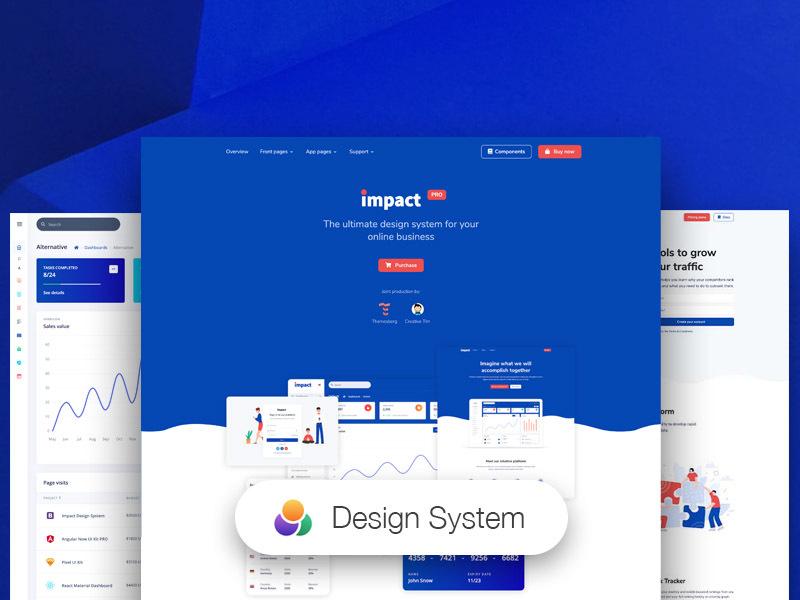 Impact Design System PRO