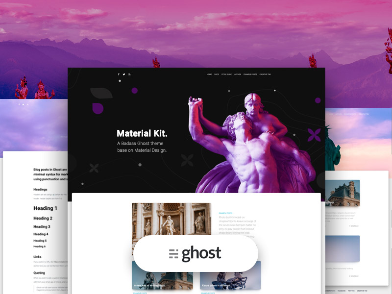 Material Kit Ghost Image
