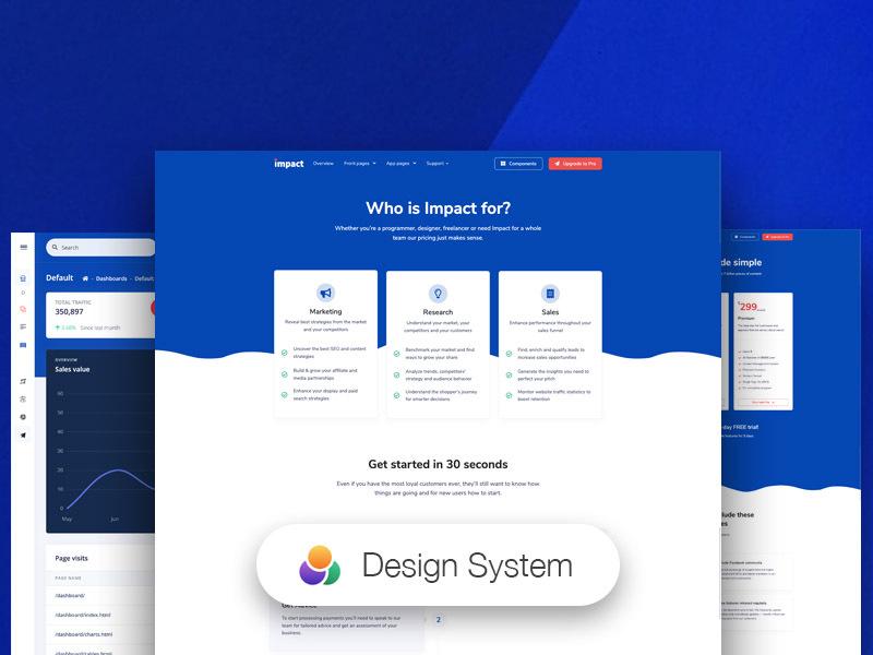 Impact Design System Image