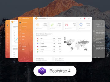 Light Bootstrap Dashboard Pro