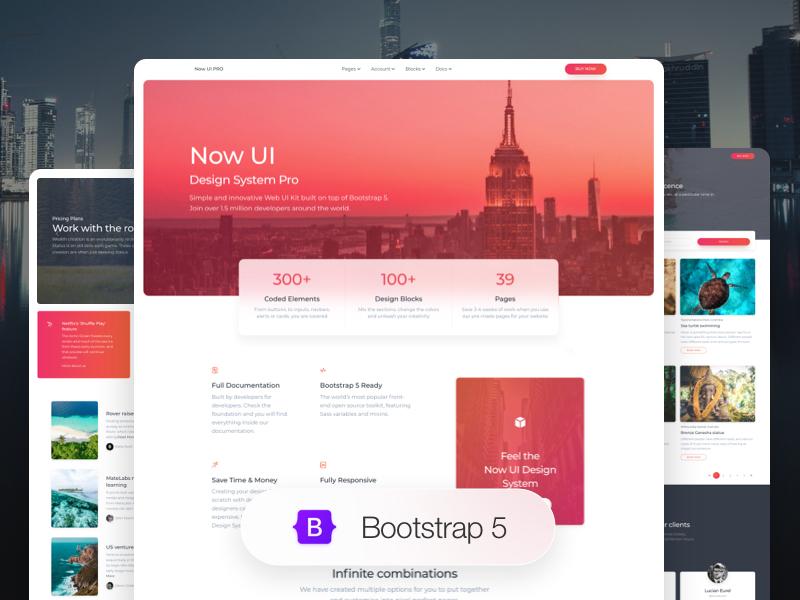 Now UI Design System PRO Image