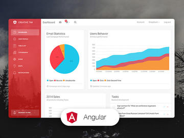 Light Bootstrap Dashboard Angular