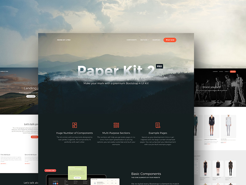 Paper Kit 2 PRO: Premium Bootstrap 4 UI KIt @ Creative Tim