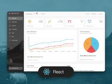 Light Bootstrap Dashboard React