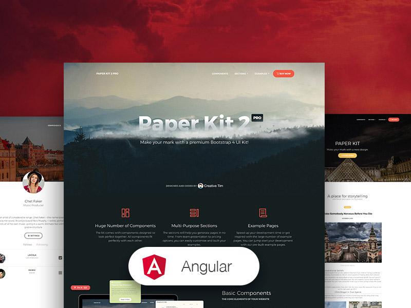 Paper Kit 2 PRO Angular Image
