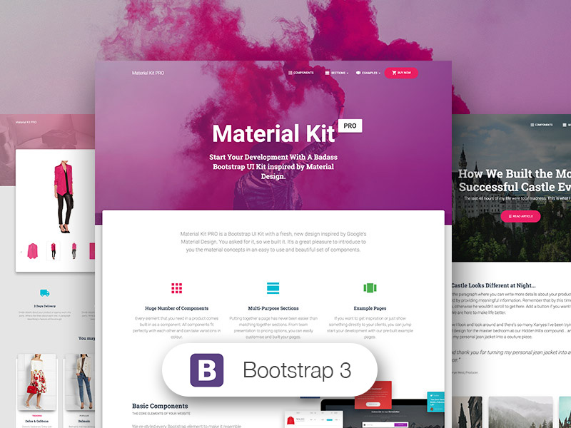 Material Kit PRO BS3 Image