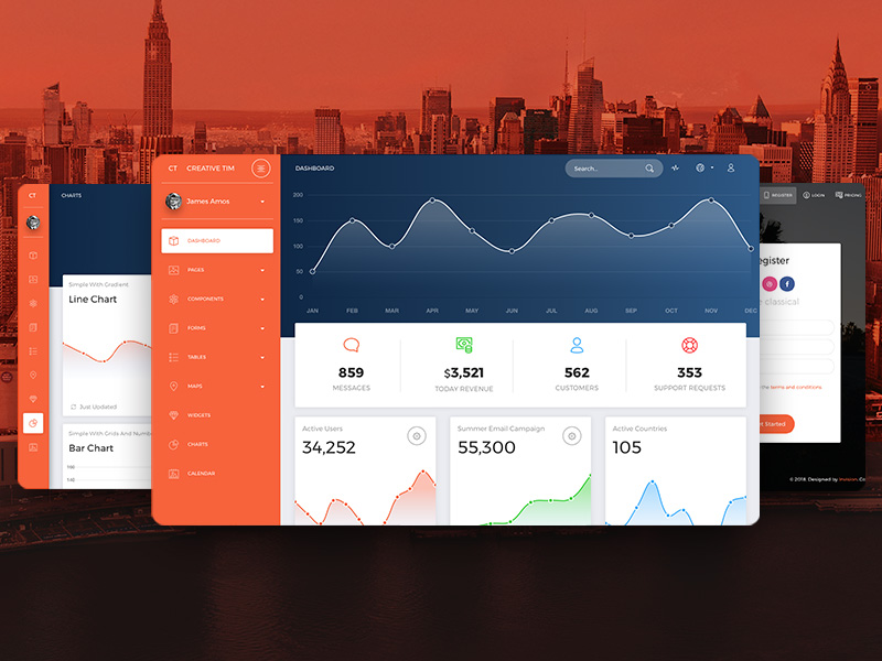 Now UI Dashboard PRO by Creative Tim