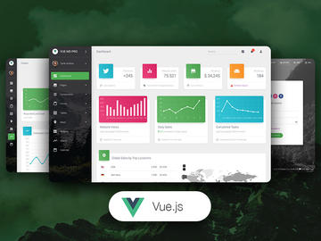 Vue Material Dashboard Pro HTML