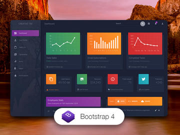 Material Dashboard Dark Edition