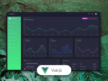 Vue Black Dashboard