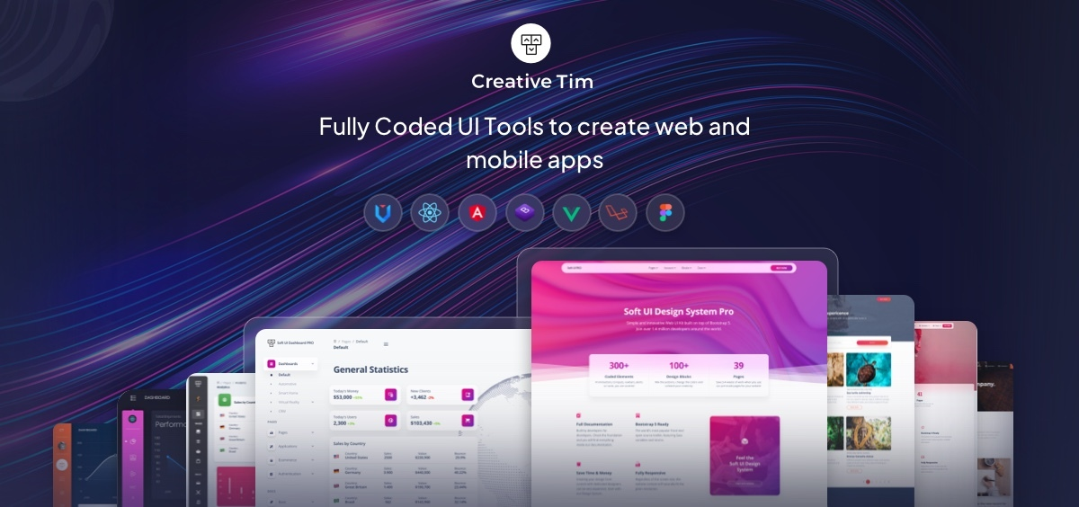 Premium Bootstrap Themes And Templates Download Creative Tim