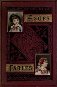 A nineteenth century copy of Aesop's Fables. Image credit: Wikimedia commons.