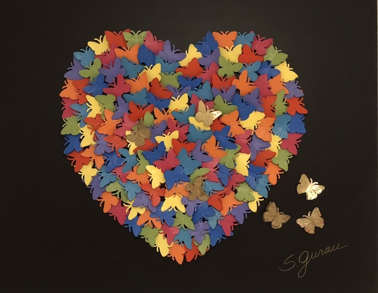 """Butterfly Heart"" by Susan Gurau"