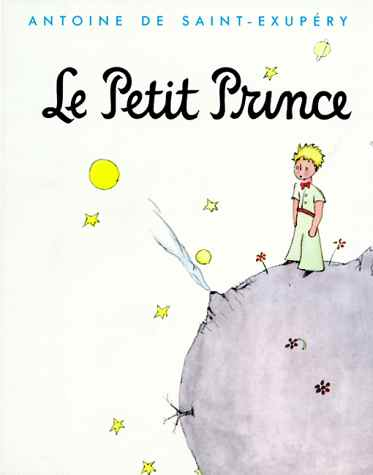 Original cover of Le Petit Prince.