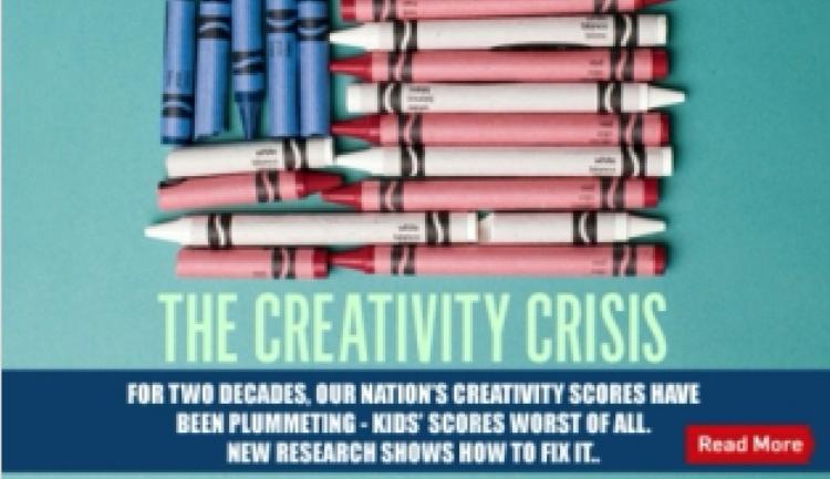 The Creativity Crisis In America!