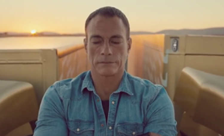 The Story Code Behind Van Damme's Viral Splits