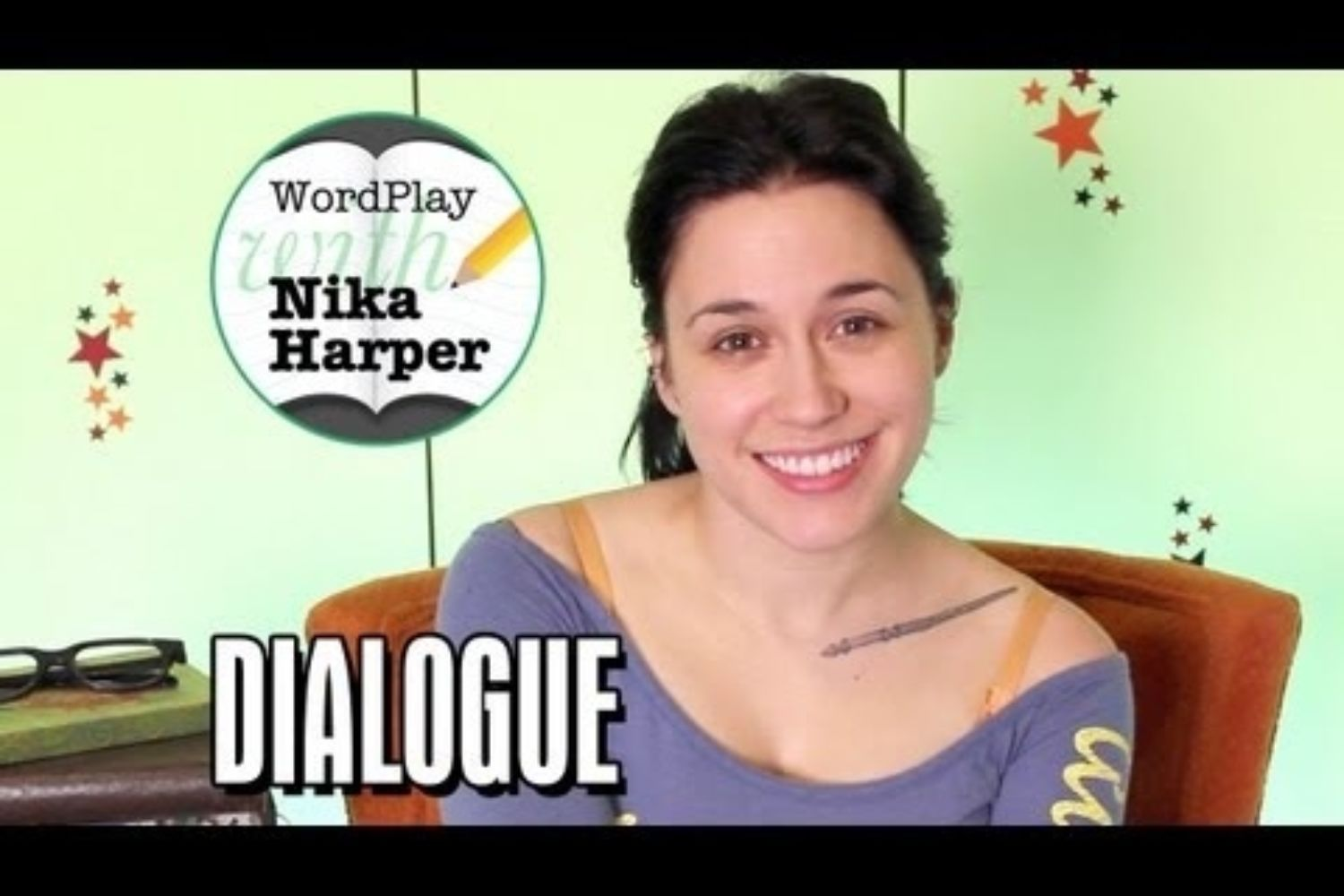 Wordplay with Nika Harper #4: Let's Talk About Dialogue (Video)