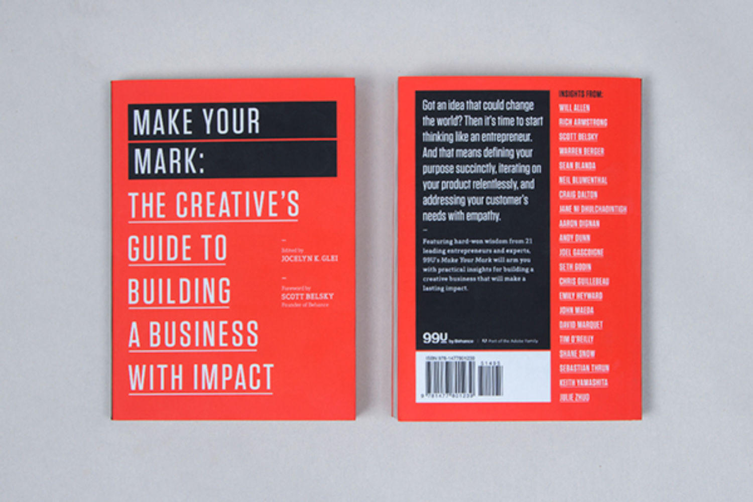 Make Your Mark - Build a Business That Matters (99U Book Series)