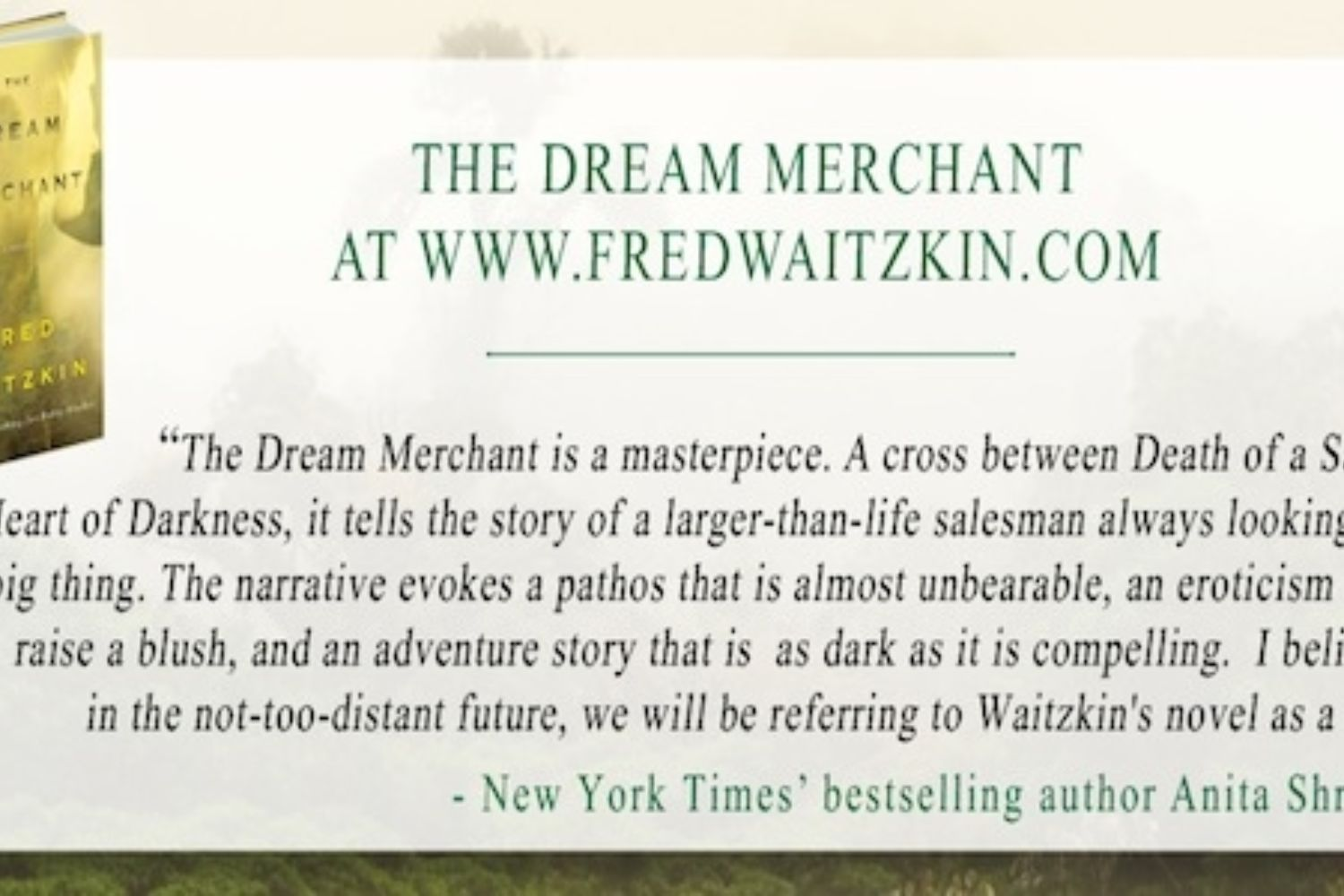 From Chess to Dreams: Interview on the Creative Writing Process with Fred Waitzkin