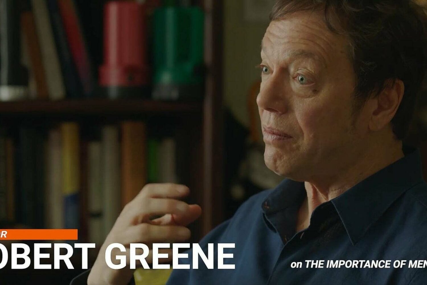 "Robert Greene Interview Part 1 ""The Importance of Mentorship"" (Video)"