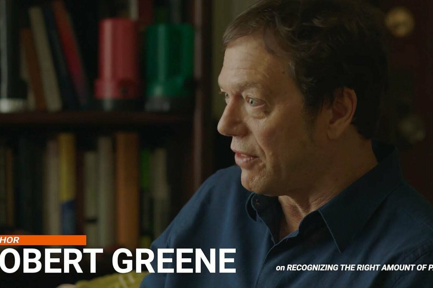 "Robert Greene Interview, Part 6: ""Recognizing The Right Amount Of Passion"""