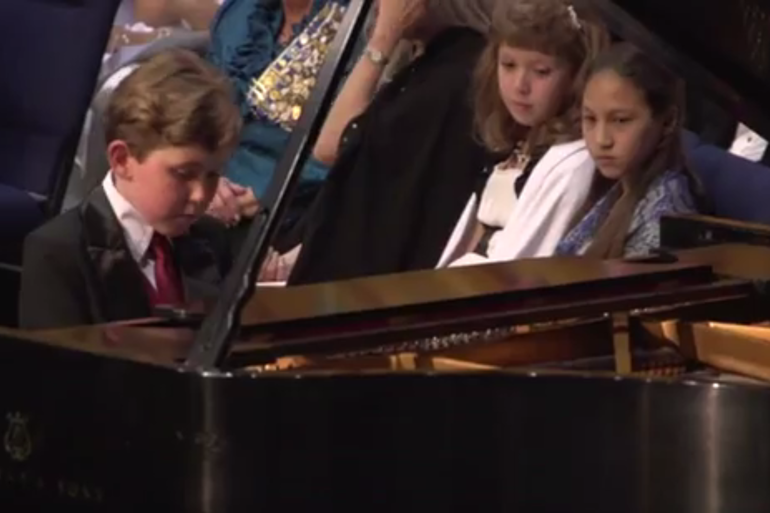 9-Year Old Piano Prodigy Gavin George