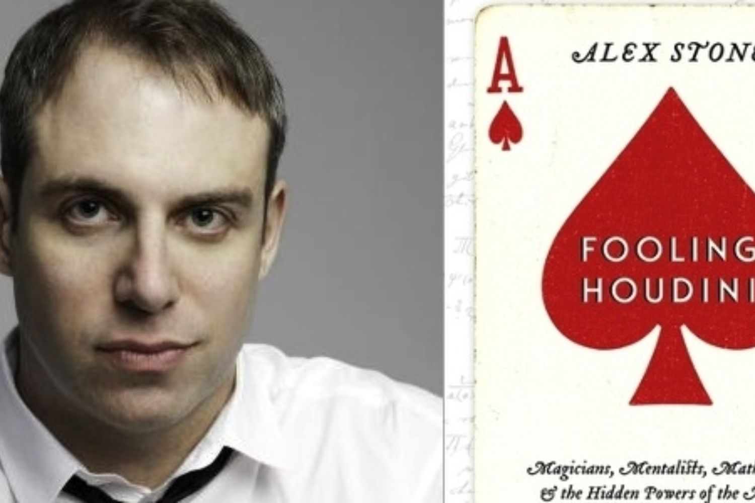 Interview with Author and Magician Alex Stone