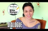 Image for Wordplay with Nika Harper #4: Let's Talk About Dialogue (Video)