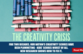 Image for The Creativity Crisis In America!