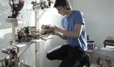 Image for Linking Disparate Ideas and Building Musical Sculptures Out of Trash